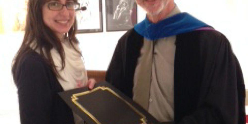 Victoria Febrer named Goldberger Fellow