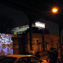 """""""Flight of Memory"""" by Victoria Febrer and Pedro J. Padilla shown as part of <i>Under the Subway Video Art Night</i>"""